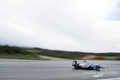 GP3-Test in Estoril, März