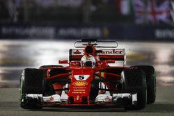 Einführungsrunde: Sebastian Vettel, Ferrari SF70H