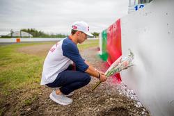 Pierre Gasly homenageia Jules Bianchi