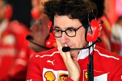Mattia Binotto, directeur technique Ferrari