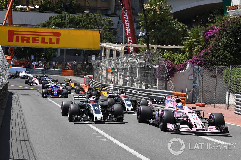 13e : Sergio Pérez (Force India)