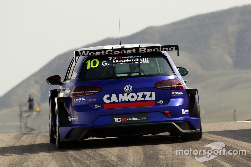 Gianni Morbidelli, West Coast Racing, Volkswagen Golf GTi TCR