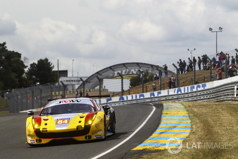 1. LMGTE-Am: #84 JMW Motorsport, Ferrari 488 GTE