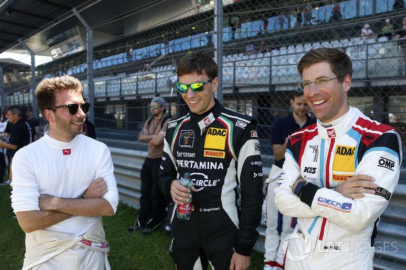 #42 BMW Team Schnitzer, BMW M6 GT3: Philipp Eng, #63 GRT Grasser Racing Team, Lamborghini Huracán GT