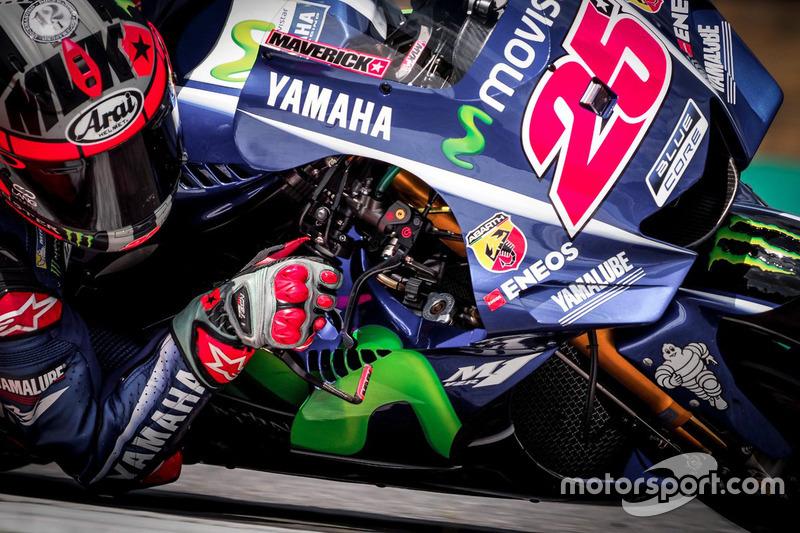 Новий обтічник Yamaha, тести в Брно
