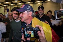 Carlos Sainz, Peugeot Sport met zijn zoon Carlos Sainz Jr.