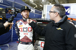 Tony Cairoli, Hyundai i20 WRC, intervistato da Matteo Nugnes, Motorsport.com