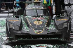 Victory lane, Winning car #5 Action Express Racing Cadillac DPi: Joao Barbosa, Filipe Albuquerque, C
