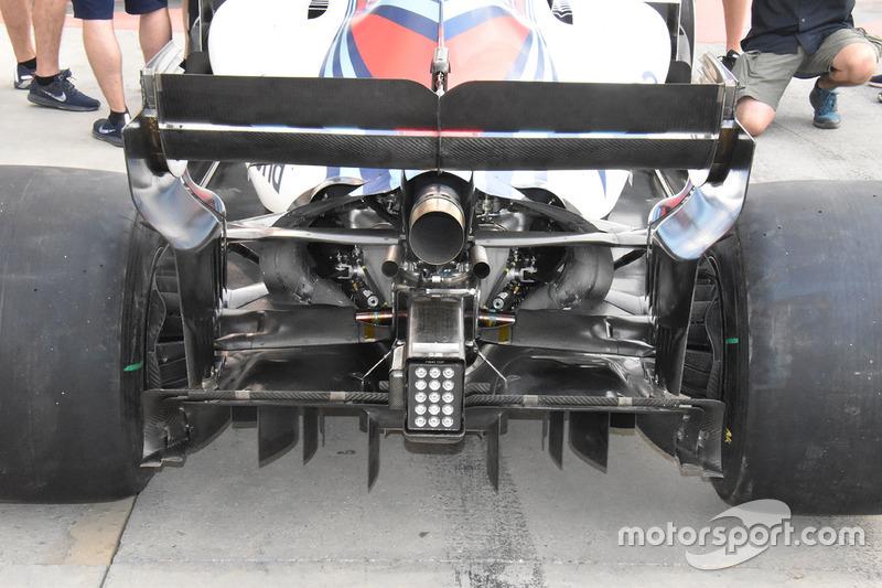 Diffuseur de la Williams FW41