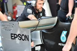 Mercedes F1 W06: Heckflügel