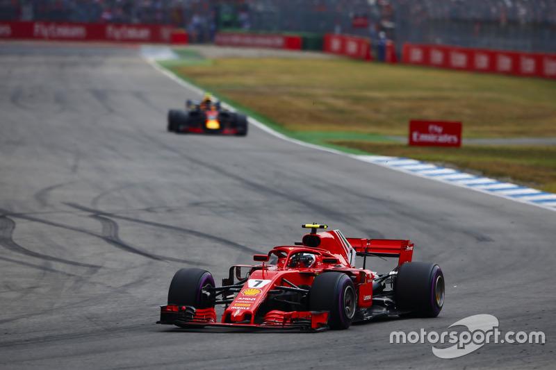 P3: Kimi Raikkonen, Ferrari SF71H