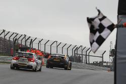 race winner Jack Goff, Eurotech Racing Honda Civic