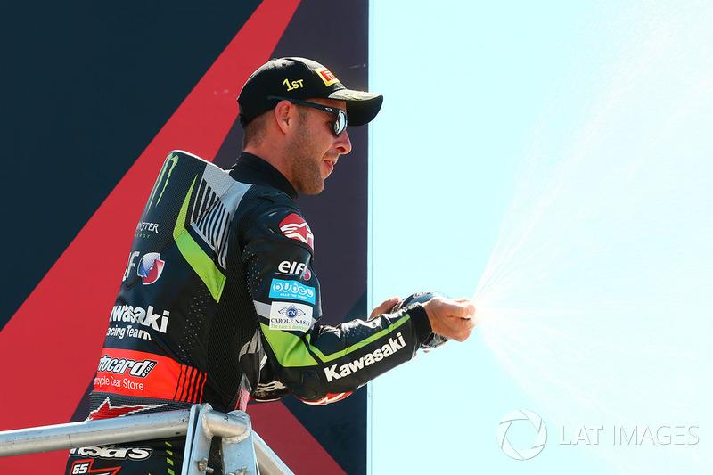Ganador Jonathan Rea, Kawasaki Racing