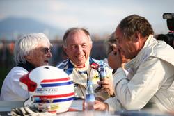 Bernie Ecclestone, Toine Hezemans, BMW 3.0 CSL and Gerhard Berger, Porsche 935
