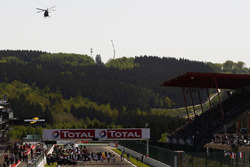 WEC starting grid at Spa Francorchamps