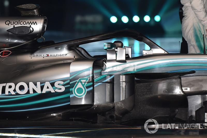 Halo de la Mercedes AMG F1 W09