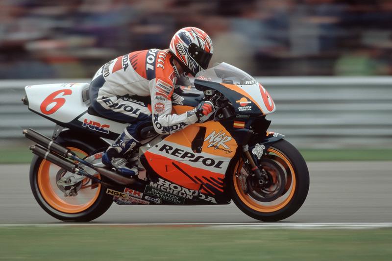 1995 - Álex Crivillé : 3e (Grand Prix d'Australie)