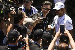 Lewis Hamilton, Mercedes AMG F1, ontmoet fans