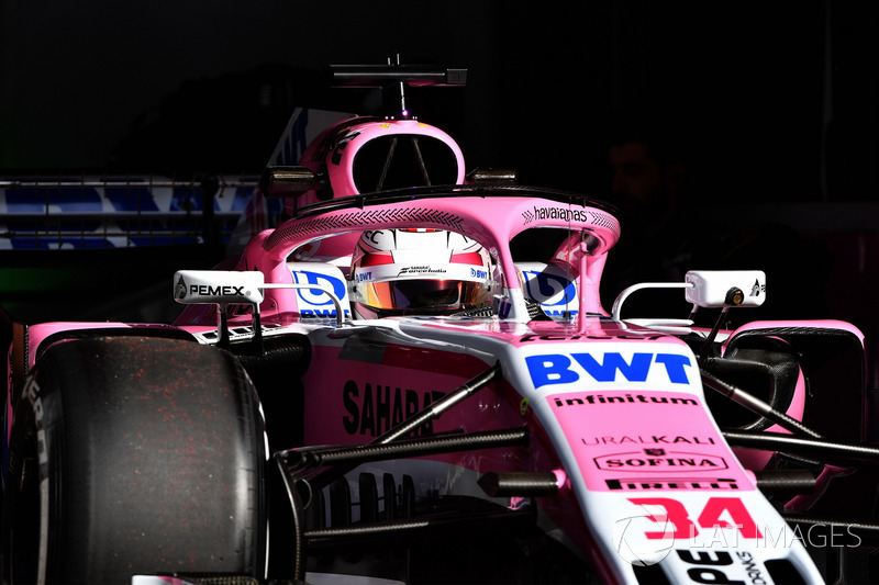 Николя Латифи, Sahara Force India F1 VJM11