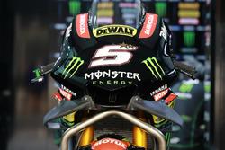 Le carénage de la moto de Johann Zarco, Monster Yamaha Tech 3