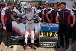 Porsche 919: Timo Bernhard met de recordtijd