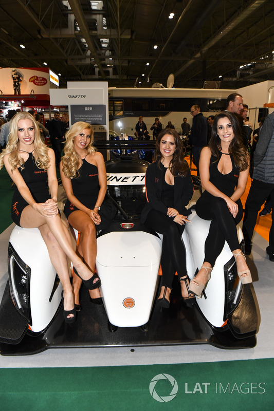 Ginetta promotional girls