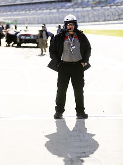 Oficial de pit lane de IMSA,  Jim Fowler