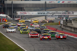 Start action Coppa Shell