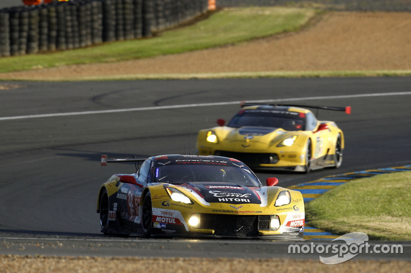 37th: #50 Larbre Competition Chevrolet Corvette C7-R: Yutaka Yamagishi, Pierre Ragues, Jean-Philippe Belloc