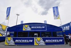 Área de neumáticos de Michelin