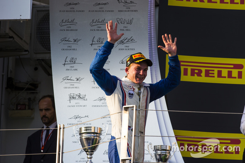 Race winner Matthew Parry, Koiranen GP