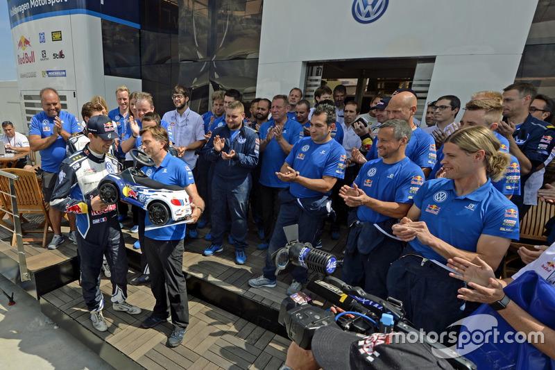 Sébastien Ogier, Volkswagen Polo WRC, Volkswagen Motorsport ve Jost Capito, Volkswagen Motorsporları Direktörü