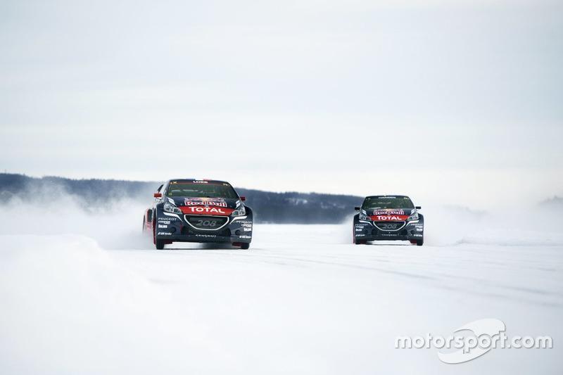 Sebastien Loeb und Timmy Hansen