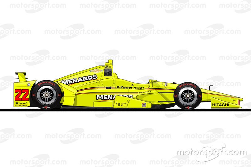 Startpositie 8: Simon Pagenaud (Penske-Chevrolet)