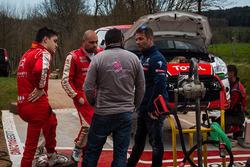 Sébastien Loeb, Daniel Elena, Terry Folb, Franck Le Floch