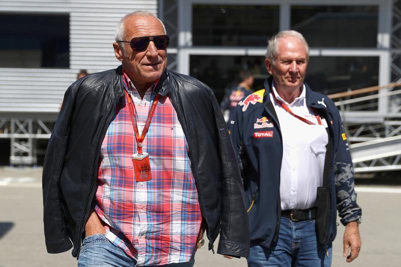 Dr. Helmut Marko, Red Bull Motorsportchef und Dietrich Mateschitz, Red Bull Besitzer