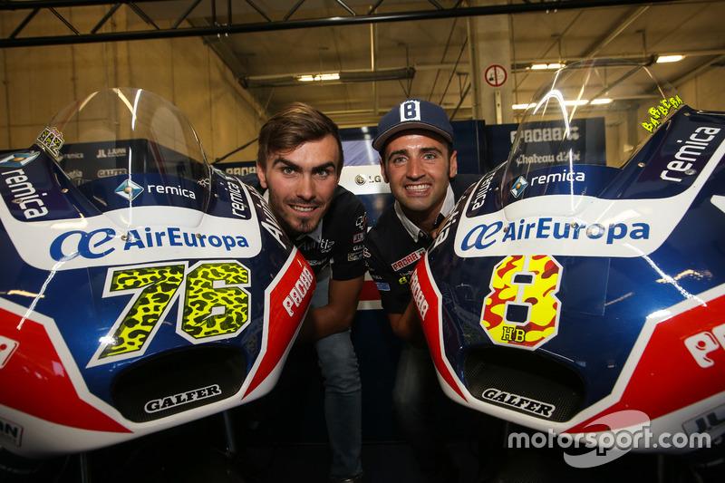 Loris Baz and Hector Barbera, Avintia Racing, Ducati