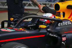 Pierre Gasly, Red Bull Racing RB12, Testfahrer, mit Halo