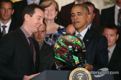 Kyle Busch visita la Casa Bianca