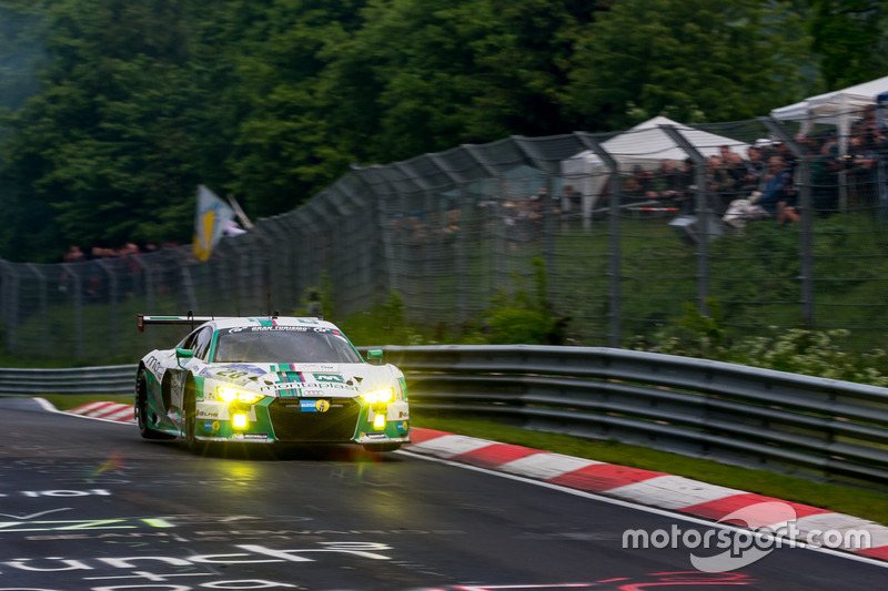 #28 Montaplast by Land Motorsport, Audi R8 LMS: Marc Basseng, Connor De Phillippi, Mike Rockenfeller, Timo Scheider