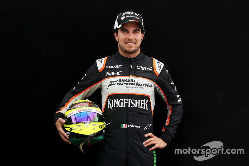 #11 Sergio Pérez, Sahara Force India F1
