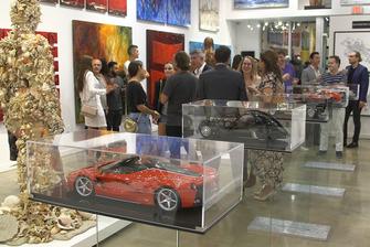 Motorsport Gallery Exhibition at William Braemer Gallery, Miami