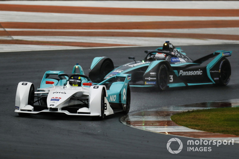 Tom Dillmann, NIO Formula E Team, NIO Sport 004 Nelson Piquet Jr., Panasonic Jaguar Racing, Jaguar I-Type 3