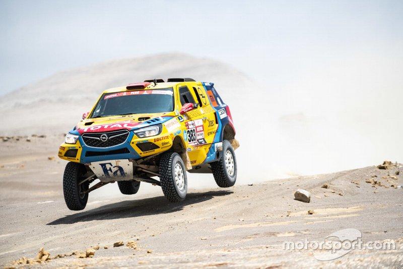 Opel Dakar Team, Балош Салай, Ласло Бункоці