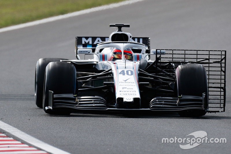 Robert Kubica, Williams FW41 Mercedes