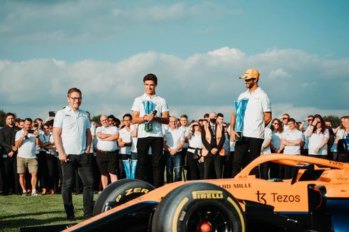 Festeggiamenti McLaren Woking