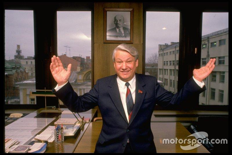 В России на второй президентский срок был переизбран Борис Ельцин
