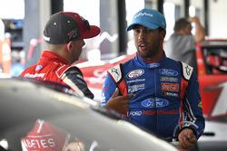 Ryan Reed, Roush Fenway Racing Ford, Darrell Wallace Jr., Roush Fenway Racing Ford