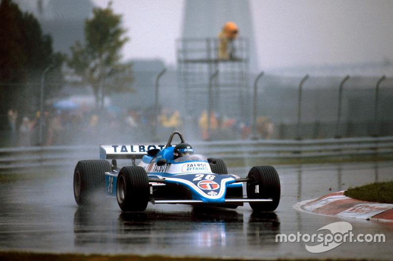 Жак Лаффит, Ligier JS17 Matra