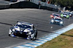GT Open 2017, Estoril Race, PhilippFrommenwiler und Albert Costa, Lexus RC F GT3, Emil Frey LexusRacing